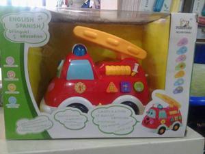 Carro Musicales Con Sonido Y Juego En Forma De Lego