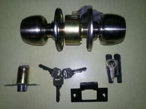 Cerradura Para Puertas Tipo Pomo