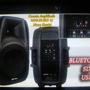 Corneta Amplificada Con Bluetooth