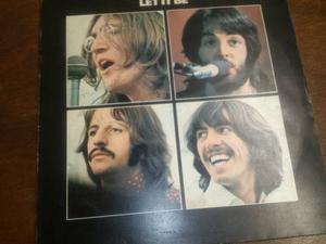 Disco De The Beatles (let It Be) Lp / Vinyl / Rock / Acetato