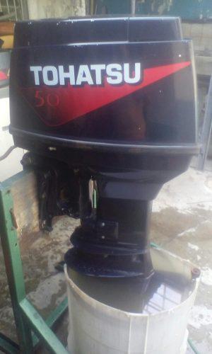 Motor Tohatsu  Con Todo El Sistema Para Volate Y De