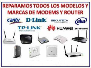 Servicio Tecnico De Reparacion De Modem Y Router Wifi Pc