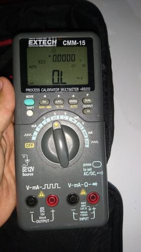 Tester Multímetro Extech Cmm-15 Profesional En Su Forro