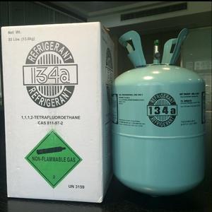 Gas refrigerante 134a marca refrigerant 13.6 kilos.