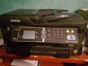 Impresora Multifuncional Epson Wf Con Sistema De Tinta
