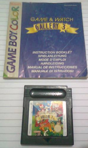 Juego Game And Watch Gallery 3 Para Game Boy