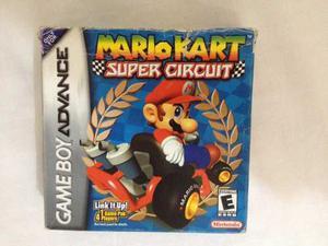 Juego Game Boy Advance Mario Kart Super Circuit Excelente