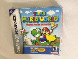 Juego Game Boy Advance Super Mario Advance 2: S. Mario World
