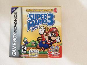 Juego Game Boy Advance Super Mario Advance 4: Smb 3