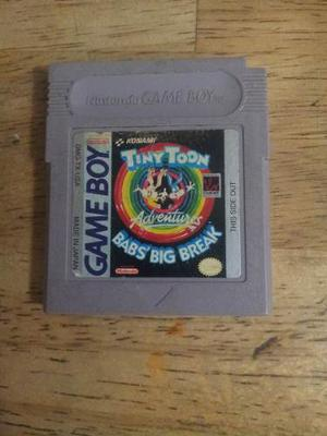 Juego Para Game Boy Tiny Toon Adventures Babs' Big Break