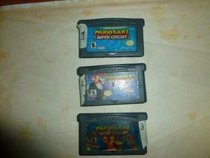 Juegos De Mario Kart Super Circuito Para Game Boy Advance