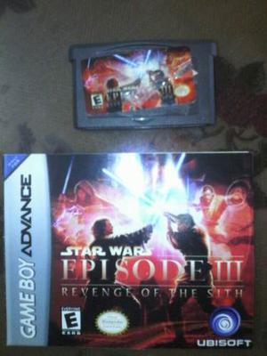 Star Wars Episodio 3 Para Game Boy Advance