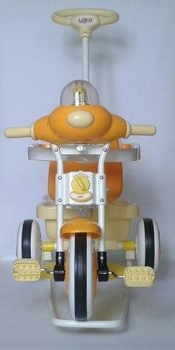 Triciclo Coche Para Bebe 4 En 1 Marca Loko Toys