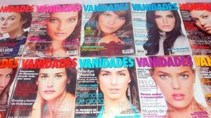 Colección De Revistas Vanidades En Perfecto Estado.