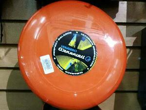 Freesbee Tamanaco Color Naranja Y Verde Manzana