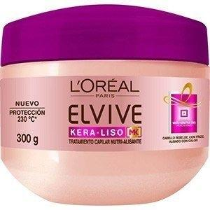 Loreal Elvive Baño De Crema Kera - Liso