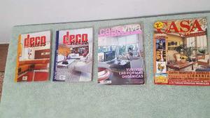 Revistas De Decoración Deconews, Casaviva Y Casayjardín