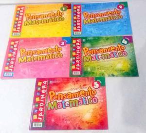 Revistas Maestra Jardinera Pensamiento Matematico 5 Tomos.
