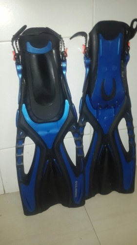 Us Divers Proflex Set Snorkel, Visor, Chapaletas Y Bolso