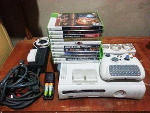 Consola De Xbox ) Juegos Originales + Accesorios