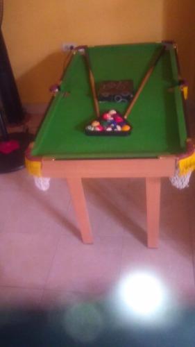 Mesa De Pool Para Niños Y Toda La Familia