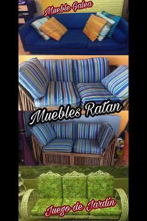 Mueble De Tela, Mueble De Ratan, Juego De Jardín En Metal