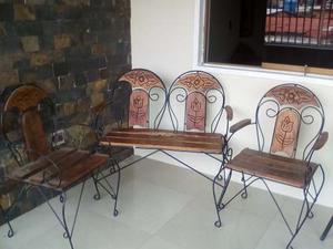 Muebles De Jardin De Madera