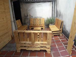 Muebles Para Jardín De Paletas De Pino