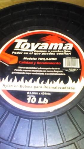 Nylon Desmalezadora Cuadrado De 3.3mm X 424 Metros Toyama
