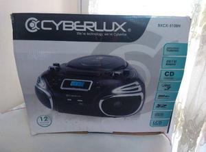 Reproductor Portatil Cyberlux Cd, Mp3, Usb, Sd, Am/fm