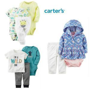 Ropa Carters Bebes Conjunto De 2 Y 3 Piezas Para Niños