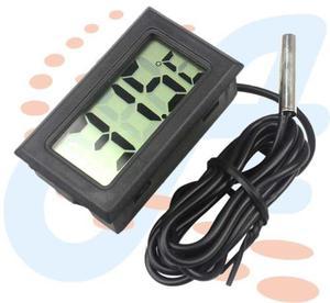 Termometro Digital Lcd Con Cable Sensor De Temperatura Never