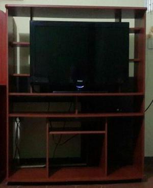 Tv 32 Pulgadas Con Mueble Modular Combo En Oferta