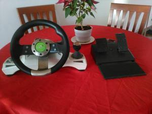 Volante Musky Con Pedalera Para Xbox 360