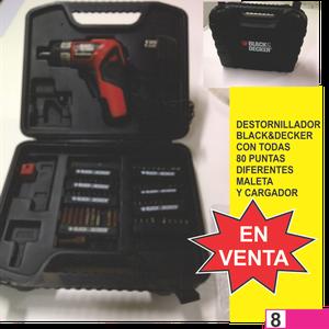 destornillador blackdecker electrico