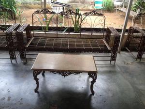 muebles hierro forjado