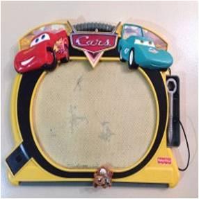 Mágica Pizarra Cars de Fisher Price. Usada OFERTA DÍA DEL