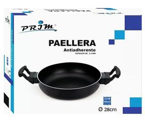 Paellera marca Prim sin tapa antiadherente, en Bs 75 millone