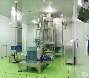 Línea de producción de harina de maíz precocida