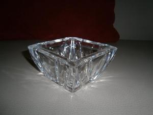 cenicero cuadrado de cristal d´Arques