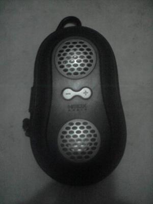 Corneta portátil y mini MP3