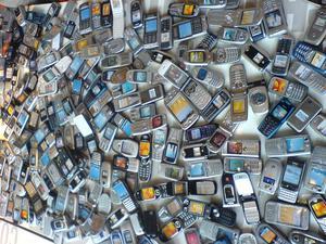 pantalla para celulares de teclado mayor detal