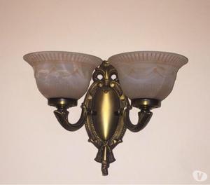 Lámparas antigua de bronce