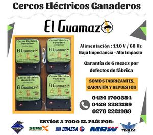 Cerca Electrica Ganadera Impulsor Energizador 100km