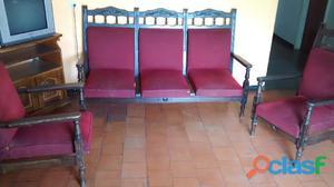 Se vende Juegos de muebles rojo en buen estado, ceibo en