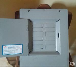 Caja breaker de 12 circuitos