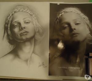 Dibujos y Retratos a Lapiz