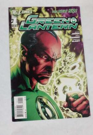 Comic Linterna Verde #1 Green Lantern The New 52 En Inglés
