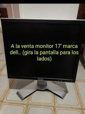 Monitor Dell De 17 Pulgadas Modelo fpt