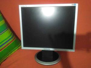 Monitor Lcd Samsung Syncmaster De 17 Excelente